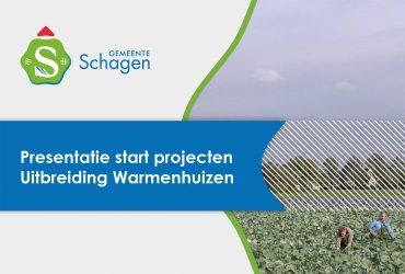 Presentatie tekort aan woningen in Warmenhuizen